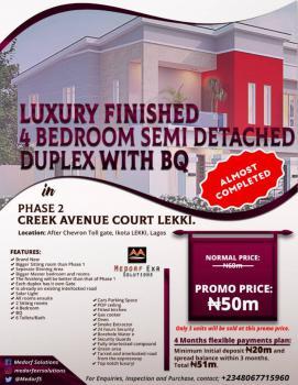 4 Bedroom Semi Detached Duplex with Bq, Chevron Toll Gate, Ikota Lekki, Lagos, Ikota, Lekki, Lagos, Semi-detached Duplex for Sale