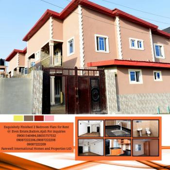 Exquisitely Finished 2 Bedroom Flats, 1 Dania Okolo Street, Even Estate, Ado, Ajah, Lagos, Flat for Rent
