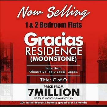 Gracias Residence (moonstone), Okunraiye, Ibeju Lekki, Lagos, Block of Flats for Sale