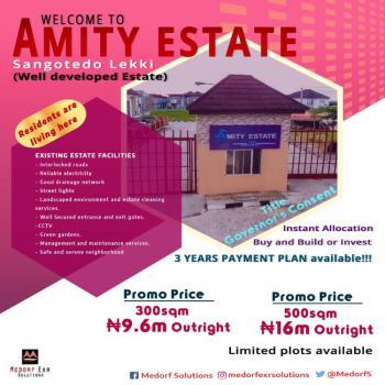 Land, Amity Estate, Abijo, Sangotedo, Ajah, Lagos, Residential Land for Sale