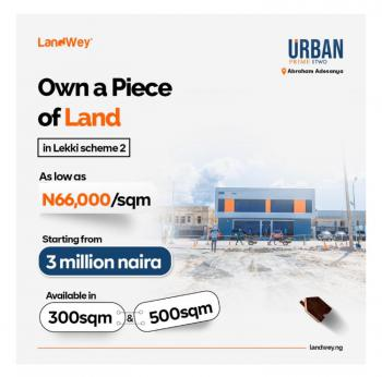 Land Facing a Major Road in a Serene Environment, Abraham Adesanya, Few Minutes From Vgc Lagos Business School, Atican, Ogombo, Ajah, Lagos, Residential Land for Sale