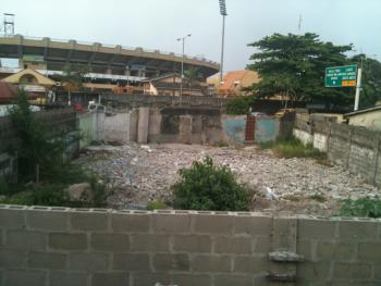 1 Plot of Land, Funsho Williams Avenue, Opp Teslim Balogun Stadium, Adeniran Ogunsanya, Surulere, Lagos, Mixed-use Land for Rent