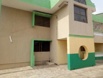 Dual Purpose 5 Bedroom Duplex on a Tarred Road, Adebajo Street, New Bodija Off Secretariat-ui Road, New Bodija, Ibadan, Oyo, Semi-detached Duplex for Rent
