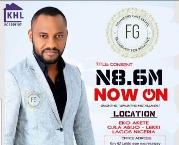 Estate Land Promo Dry Land, Abijo Gra, Sangotedo, Ajah, Lagos, Residential Land for Sale