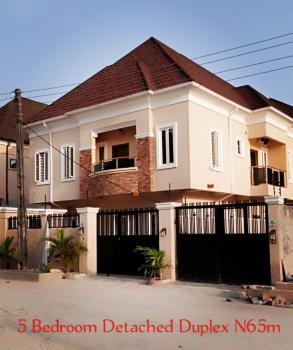 Newly Built 5 Bedrooms Detached Duplexes, Chevron Alternative Drive, Agungi, Lekki, Lagos, Detached Duplex for Sale