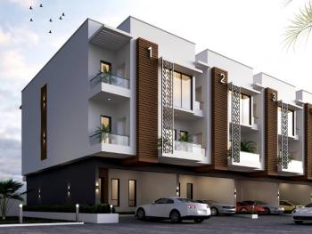 4 Bedroom with 1 Maid Room on 3 Floors Facing Water Front, Ado, Ajah, Lagos, Terraced Duplex for Sale