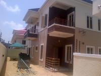 4 Bedroom Semi Detached Duplex(all En-suite) With Jacuzzi, Cctv, Intercom, Solar Panel, Fitted Kitchen, Family Lounge, Ante Room And Boys Quarters, Lekki Phase 1, Lekki, Lagos, 4 Bedroom, 5 Toilets, 4 Baths House For Sale