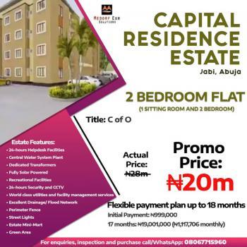 Capital Residence Estate, Jabi Abuja., Jabi, Abuja, Block of Flats for Sale