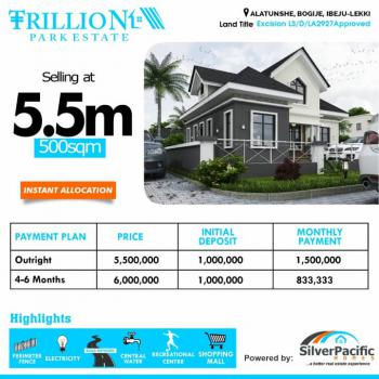 Trillion Park, Lekki, Lagos, Land for Sale