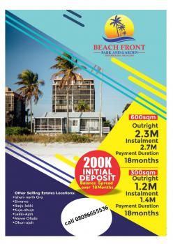 Land with Excision Facing Major Road, Coastal Road, Eleko, Ibeju Lekki, Lagos, Residential Land for Sale
