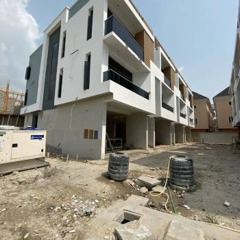 Luxury 4 Bedroom Terraced  Duplex + Bq 80% Completed, Ikate Elegushi, Lekki, Lagos, Terraced Duplex for Sale