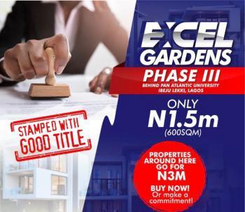 Land, Behind Pan Atlantic University, Ibeju Lekki, Lagos, Residential Land for Sale