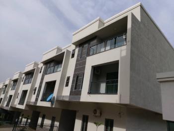 Upscale Finished & Luxury 4bedroom Terrace Duplex + Bq, Guzape Hills, Guzape District, Abuja, Terraced Duplex for Sale