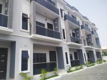 New 4 Bedroom Luxury Terraced Triplex Serviced, Off Emeka Nweze Street, Lekki Phase 1, Lekki, Lagos, Terraced Duplex for Sale