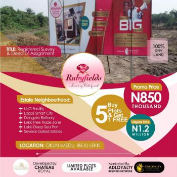 Rubyfields, Okun Imedu, Ibeju Lekki, Lagos, Residential Land for Sale