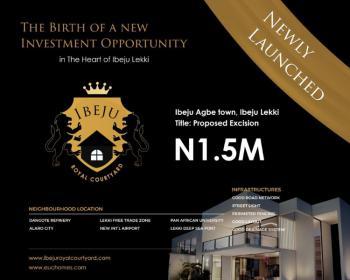 One Plot of Land at The Heart of Ibeju Lekki, Agbe Town, Eleko, Ibeju Lekki, Lagos, Residential Land for Sale