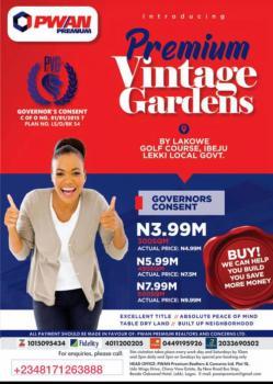 Vintage Garden Estate Land, Adeba By Lakowe Golf Course, Ibeju Lekki, Lekki Expressway, Lekki, Lagos, Mixed-use Land for Sale