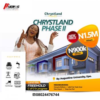 Land, Chrystland Estate, Ilara Road, After St. Augustine University, Epe, Lagos, Mixed-use Land for Sale