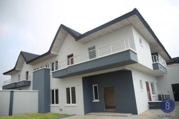 Spacious *4 Bedroom Semi-detached House with 2 Rooms Bq and a Gate., Bosun Adekoya Street Off Market Road., Lekki Phase 1, Lekki, Lagos, Semi-detached Duplex for Sale