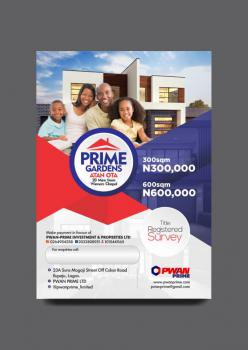 Affordable Land with Registered Survey, Winners Chapel Road, Sango Ota, Ogun, Residential Land for Sale