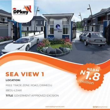 Estate Land, 4minutes Away From Amen Estate, Eleko, Ibeju Lekki, Lagos, Residential Land for Sale