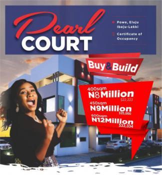 Pearl Court, Eluju, Ibeju Lekki, Lagos, Residential Land for Sale