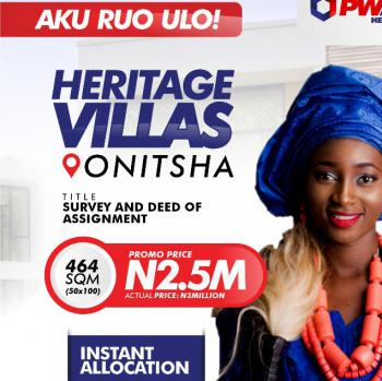 Estate Land, Estate Strategically Located in Ogbaku Along Owerri-onitsha Expressway, Owerri, Imo, Residential Land for Sale