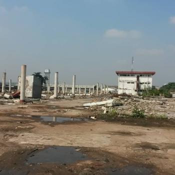 9 Acres (54 Plots) of Solid Cornerpiece Land, Oba Akran, Ikeja, Lagos, Warehouse for Sale
