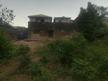a Parcel of Land Measuring 650sqm with a 3br Bungalow and 3shops, Obawole Off College Road, Ogba, Ikeja, Lagos, Residential Land for Sale