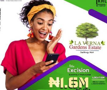 Estate Land, Eleko 3minutes Away From Pan Atlantic University,, Eleko, Ibeju Lekki, Lagos, Residential Land for Sale