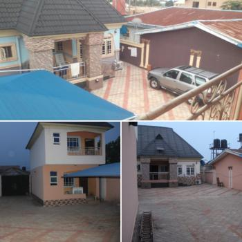 a Storey Building & a Detached Bungalow with C of O, Behind Depper Life, Okwe, Asaba, Delta, House for Sale