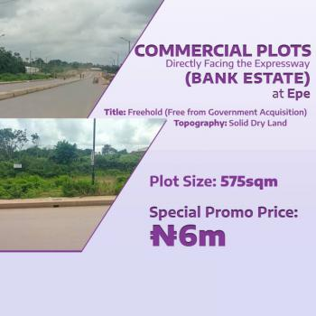 Commercial Plots Directly Facing The Expressway, Epe, Lagos, Filling Station for Sale
