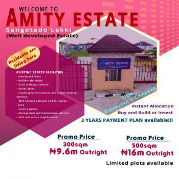 Amity Estate, Sangotedo Lekki Lagos, Lekki, Lagos, Residential Land for Sale