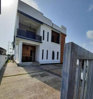 New 4 Bedroom Fully Detached Duplex with Bq, By Chevron, Lekki, Lagos, Detached Duplex for Sale