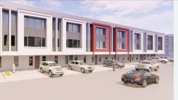 Exclusive Terrace Office Space in Chevron-lekki, Chevron, Lekki, Lekki Phase 2, Lekki, Lagos, Office Space for Sale