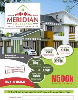 Meridian Boulevard Lekki Scheme 2, Okun. Ajah, 3 Minutes From Abraham Adesanya Estate, Ajah, Lagos, Mixed-use Land for Sale