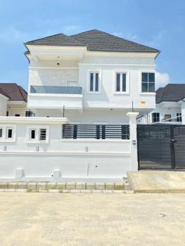 Luxurious Elegant 4  Bedroom En-suite  Fully Detached Duplex with Bq, Tarred and Interlock Road From The Expressway,chevron Alternative, Lekki, Lagos, Detached Duplex for Sale