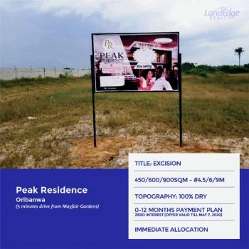 Land, Oribanwa, Ajah, Lagos, Residential Land for Sale