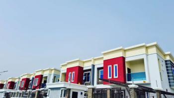 4 Bedroom Terrace Duplex with 18 Months Payment Plan, Between The Prestigious Chevron and Vgc. Interlocked Road From Express, Ikota, Lekki, Lagos, Terraced Duplex for Sale