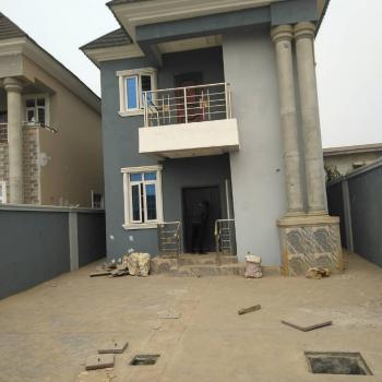 Newly Built 4 Bedroom Detached House with a Room Bq, Off Charity Road, Abule Egba, Lagos, Abule Egba, Agege, Lagos, Detached Duplex for Sale
