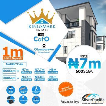 Plots of Luxury Land, Kingsmark Estate, Ibeju Lekki, Lagos, Residential Land for Sale