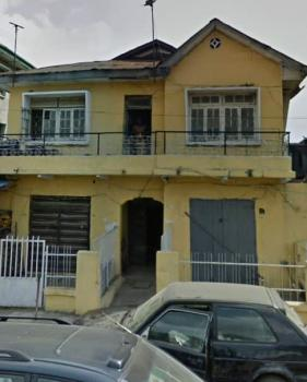 Half Plot of Land with a Storey Building on It, Aguda, Surulere, Lagos, Mixed-use Land for Sale