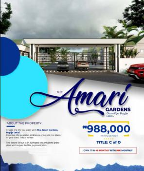 100% Dry and Secured Estate, Invest N988,000 on a C of O Land and Watch As The Price Appreciate, Bogije, Ibeju Lekki, Lagos, Mixed-use Land for Sale
