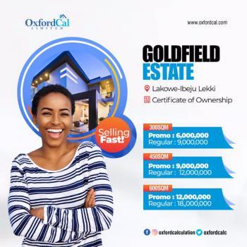 Land, Gold Field Estate, Lakowe, Ibeju Lekki, Lagos, Mixed-use Land for Sale