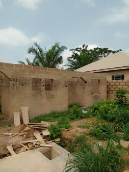 Uncompleted 2 Room & Parlor Self Contained with Space to Build Another, Apena Street, Bako Apata Ibadan, Apata, Ibadan, Oyo, Detached Bungalow for Sale