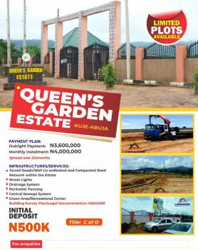 Plots of Land with C of O in a Serene Neighbourhood, Queens Garden Estate, Kuje-abuja, Abuja Fct, Kuje, Abuja, Residential Land for Sale