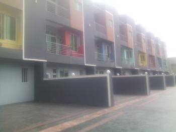 New Superbly Finished 5 Bedroom Terrace House with 2 Rms Bq, Off Oba Akinjobi, Ikeja Gra, Ikeja, Lagos, Terraced Duplex for Sale