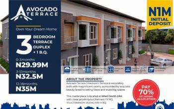 3 Bedroom Terrace Duplex with Bq - Avocado Terraces, Avocado Terraces, Opic, Isheri North, Lagos, Terraced Duplex for Sale