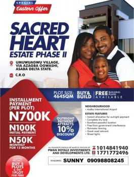 Buy 5 Plots and Get 1 Free, Sacred Heart Esatae 2, Asaba, Delta, Mixed-use Land for Sale
