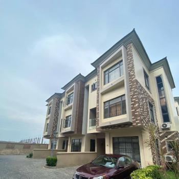Serviced 4 Bedrooms Terrace Duplex, Osapa, Lekki, Lagos, Semi-detached Duplex for Rent